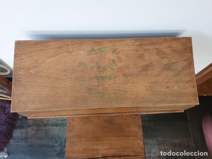 Antigüedades: Antiguo Reclinatorio de Madera - Foto 11 - 227214605