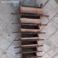 Antigüedades: CANJILÓN ARCADUZ CONJUNTO DE CONTRAMARCHA NORIA MUY ANTIGUOS // FORMATO ALARGADO ETNOGRAFÍA. Lote 227229345