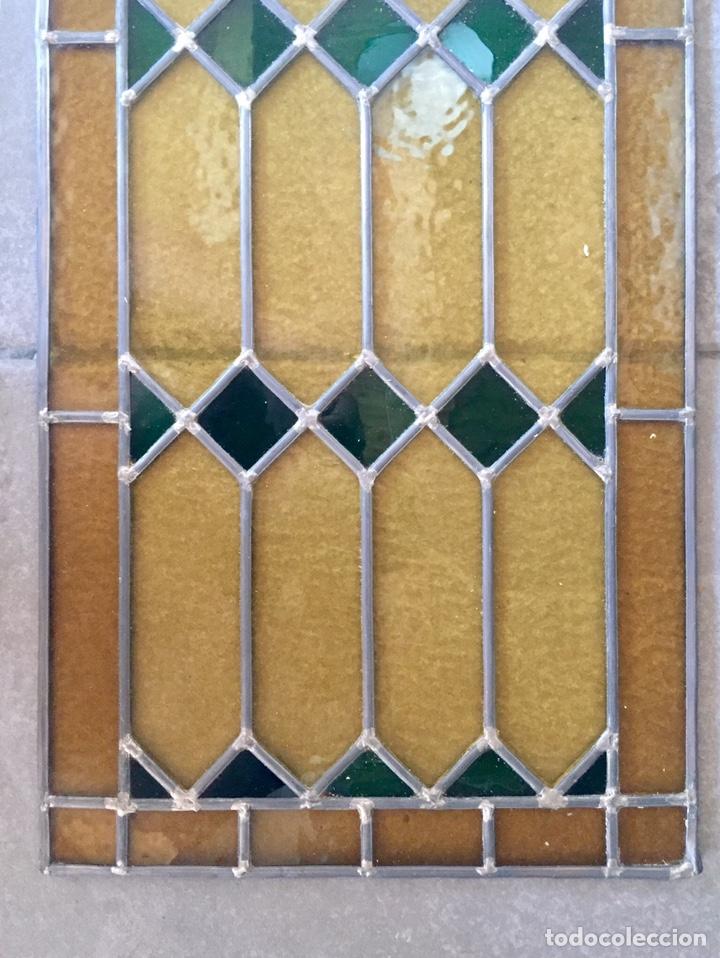 Antigüedades: Vidriera emplomada. - Foto 3 - 227462945