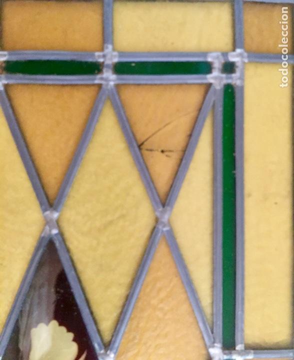Antigüedades: Vidriera emplomada - Foto 6 - 227463090