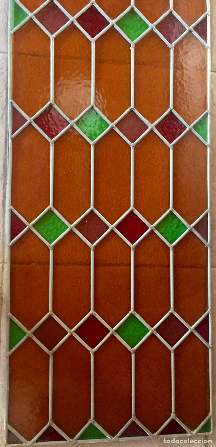 Antigüedades: Vidriera emplomada - Foto 4 - 227463555
