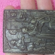 Antigüedades: REPRESENTACION DE LA VISITACION A SANTA ISABEL. Lote 227467810