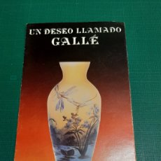 Antigüedades: CRISTAL GALE VER MIS LOTES O ALMACÉN DO COLISEVM. Lote 227487300