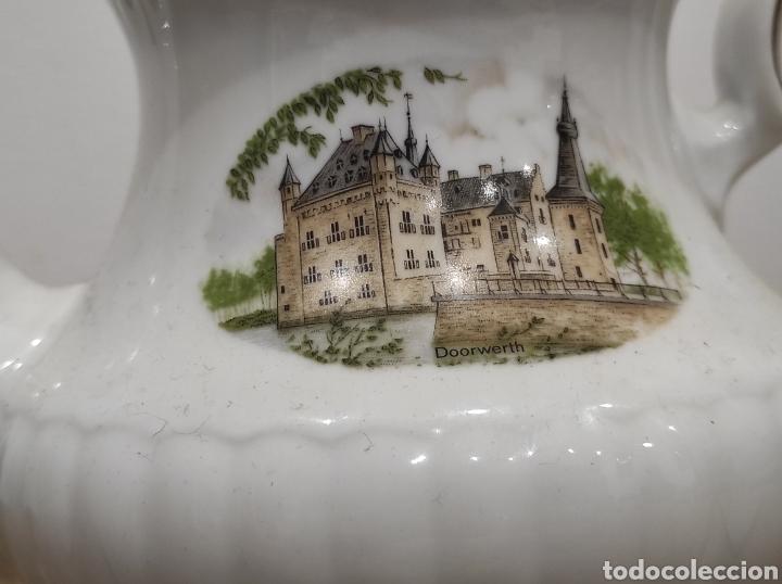 Antigüedades: Bavaria-Pozellan Röslau - Original Dutch Castles cafetera / tetera de colección. - Foto 3 - 227598820