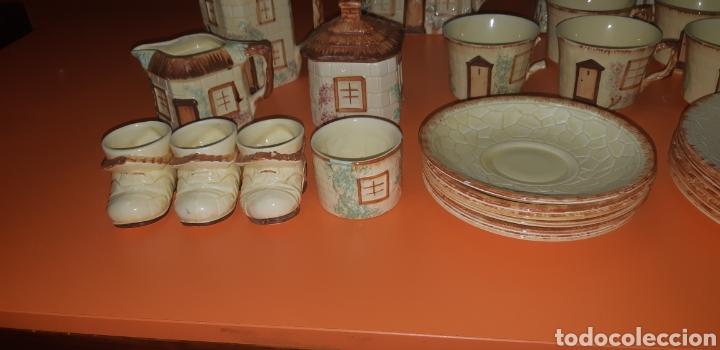 Antigüedades: Juego de te keele st pottery co.ltd 1946 1948 - Foto 3 - 227614425