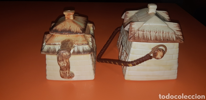 Antigüedades: Juego de te keele st pottery co.ltd 1946 1948 - Foto 6 - 227614425