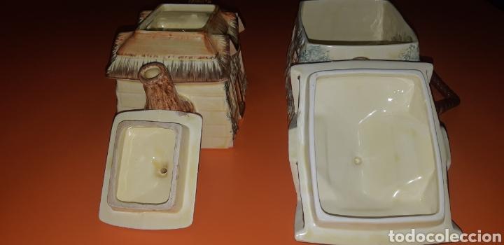 Antigüedades: Juego de te keele st pottery co.ltd 1946 1948 - Foto 9 - 227614425
