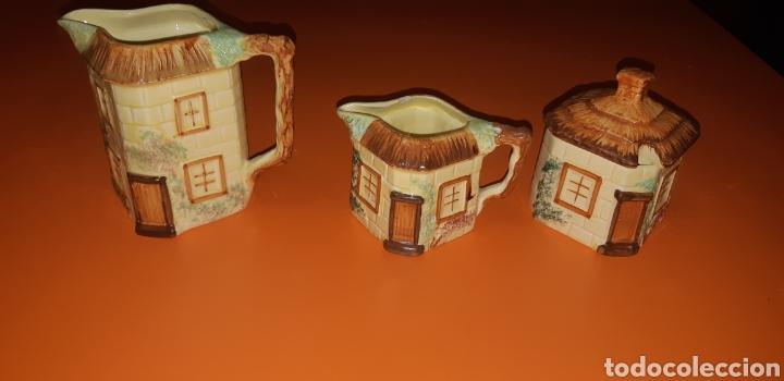 Antigüedades: Juego de te keele st pottery co.ltd 1946 1948 - Foto 13 - 227614425