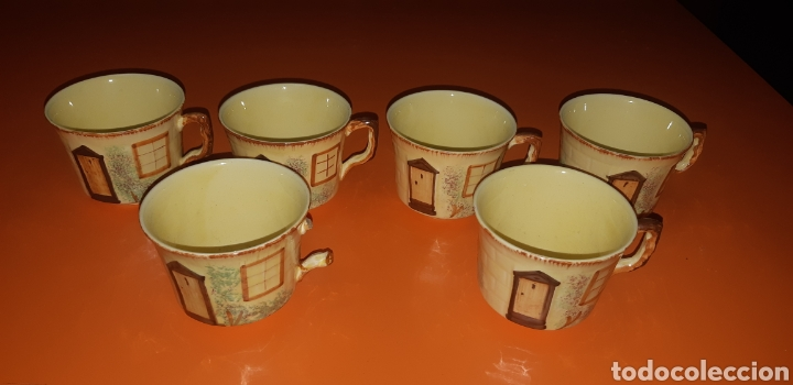 Antigüedades: Juego de te keele st pottery co.ltd 1946 1948 - Foto 14 - 227614425