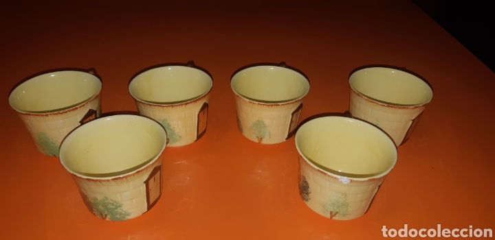 Antigüedades: Juego de te keele st pottery co.ltd 1946 1948 - Foto 15 - 227614425