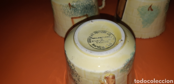 Antigüedades: Juego de te keele st pottery co.ltd 1946 1948 - Foto 23 - 227614425