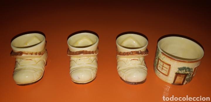 Antigüedades: Juego de te keele st pottery co.ltd 1946 1948 - Foto 34 - 227614425