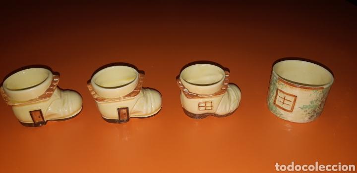 Antigüedades: Juego de te keele st pottery co.ltd 1946 1948 - Foto 36 - 227614425