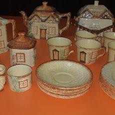Antigüedades: JUEGO DE TE KEELE ST POTTERY CO.LTD 1946 1948. Lote 227614425