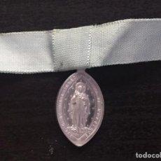 Antigüedades: ANTIGUA MEDALLA CONGREGATIO-MARIANA-AVE-GRATIA-PLENA-DOMINUS-TECUM. Lote 227614925
