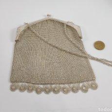 Antigüedades: BOLSITO DE PLATA CON CADENA. AÑOS 30. Lote 227617555