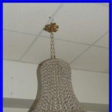 Antigüedades: LAMPARA CON FORMA DE CAMPANA MUY BONITA. Lote 227653556