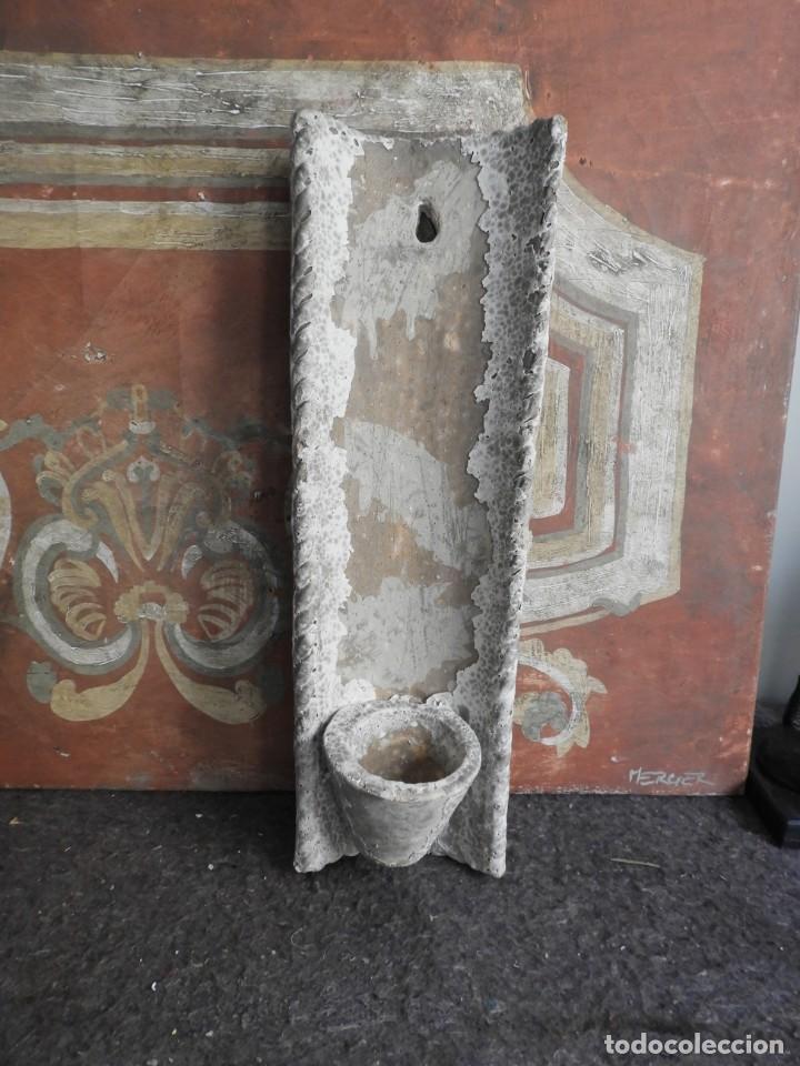 Antigüedades: MACETERO DE TERRACOTA CON FORMA DE TEJA - Foto 6 - 227653675