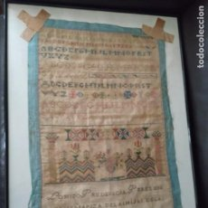 Antigüedades: 1835 TAPIZ O TAPETE HIJAS DE LA CARIDAD SANTO DOMINGO DE LA CALZADA LA RIOJA LOGROÑO 62 X 40 CM.. Lote 227657865