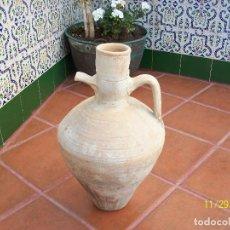 Antigüedades: ANTIGUO CANTARO -ALTO 44 CM- DIAMETRO 30 CM-DIAMETRO DE LA BOCA 10 CM. Lote 227698495