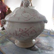 Antigüedades: SOPERA CERAMICA SAN JUAN. Lote 227700905