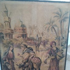 Antigüedades: TAPIZ SIGLO XIX 1.32×97 CM. Lote 227702185