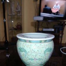 Antiquités: MACETERO DE PORCELANA CHINA. Lote 227781250