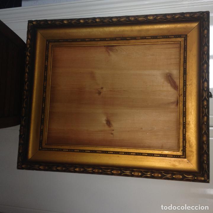 Antigüedades: ANTIGUO GRAN MARCO EN MADERA - SIGLO XIX - VER FOTOS ADJUNTAS - Foto 2 - 227819070