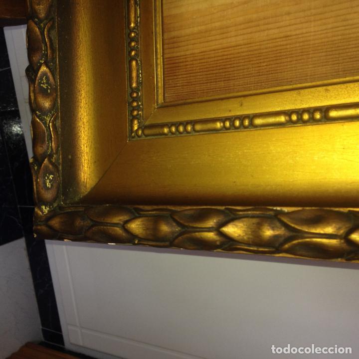 Antigüedades: ANTIGUO GRAN MARCO EN MADERA - SIGLO XIX - VER FOTOS ADJUNTAS - Foto 7 - 227819070