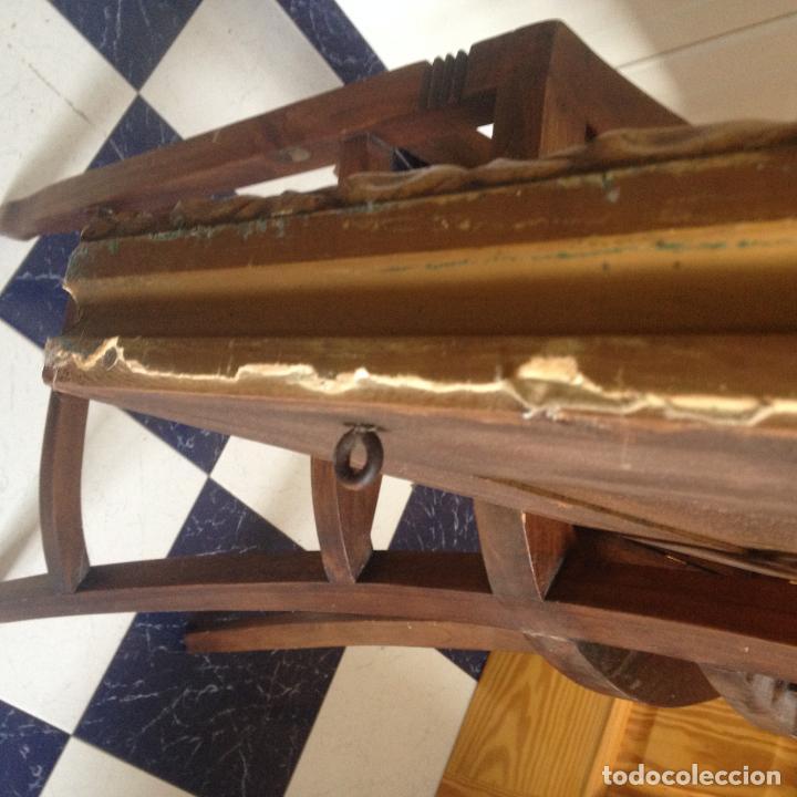 Antigüedades: ANTIGUO GRAN MARCO EN MADERA - SIGLO XIX - VER FOTOS ADJUNTAS - Foto 18 - 227819070