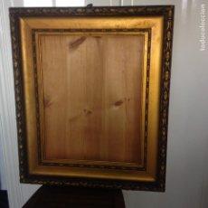 Antigüedades: ANTIGUO Y GRANDE MARCO EN MADERA - SIGLO XIX - VER FOTOS ADJUNTAS. Lote 227819070