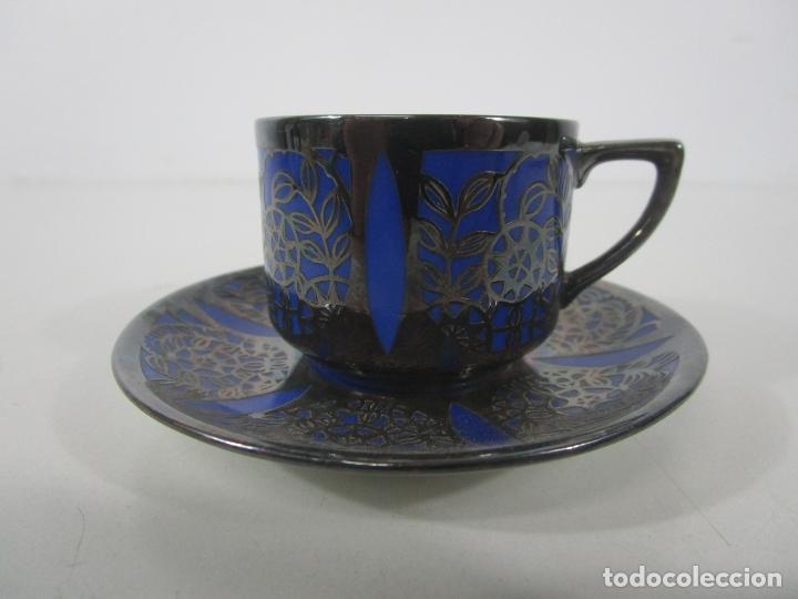 BONITA TAZA DE CAFÉ CON PLATO - PORCELANA ROSENTHAL, BAVARIA (Antigüedades - Porcelana y Cerámica - Alemana - Meissen)