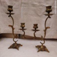 Antigüedades: CANDELABROS. Lote 227861840