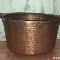 Antigüedades: ANTIGUA OLLA DE COBRE SIGLO XIX. Lote 227866100