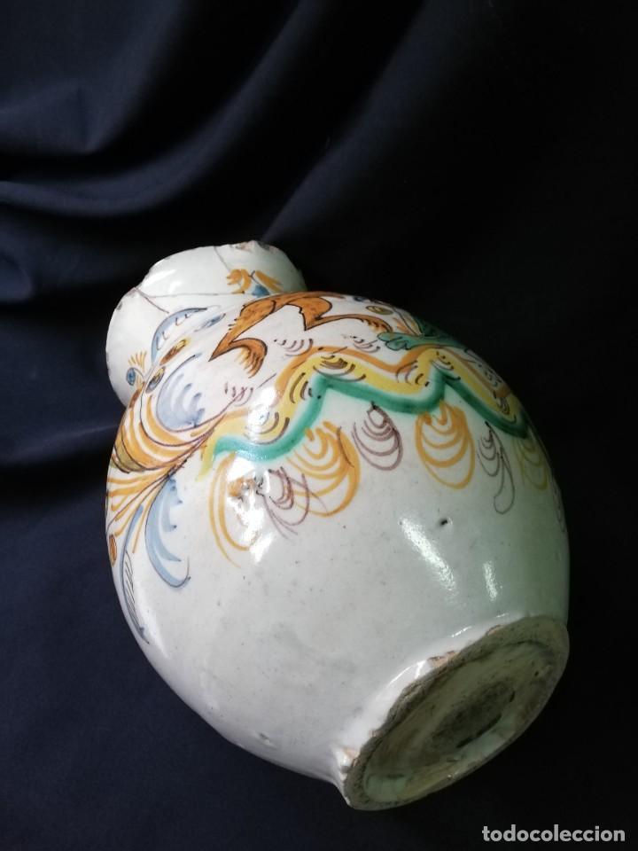 Antigüedades: JARRA DE BOLA EN CERÁMICA DE PUENTE DEL ARZOBISPO PRINCIPIOS DEL S. XIX - Foto 13 - 227881115