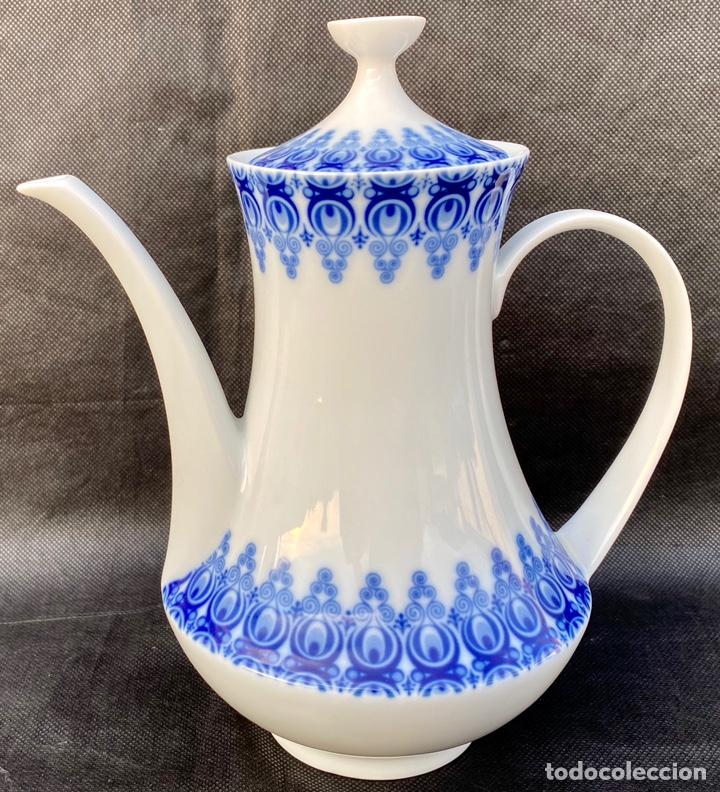 Antigüedades: SATA CLARA. Juego de té Santa Clara Moises Álvarez - Foto 7 - 268784954