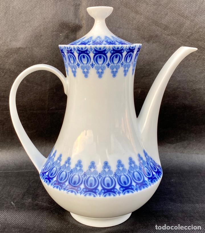Antigüedades: SATA CLARA. Juego de té Santa Clara Moises Álvarez - Foto 9 - 268784954