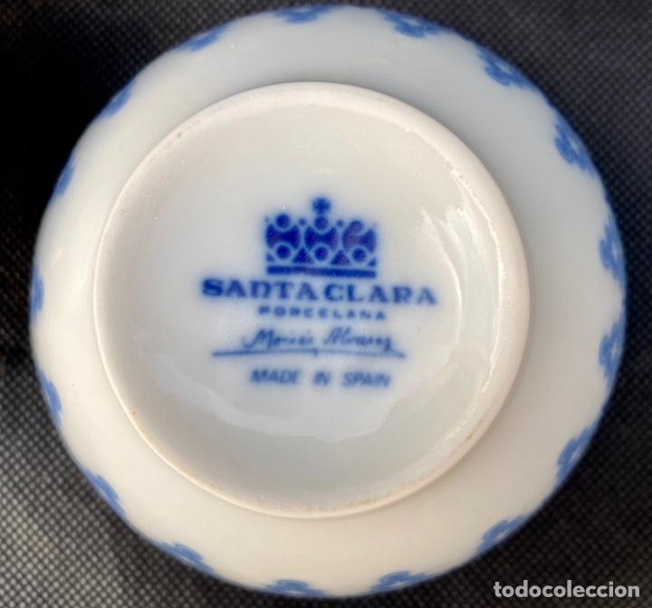 Antigüedades: SATA CLARA. Juego de té Santa Clara Moises Álvarez - Foto 21 - 268784954