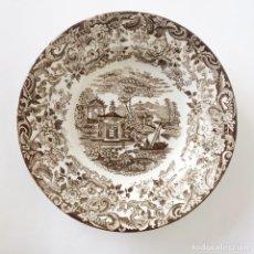 Antigüedades: PLATO PORCELANA LA CARTUJA DE SEVILLA PICKMAN - HONDO - 25,5 CM DIÁMETRO. Lote 227926075