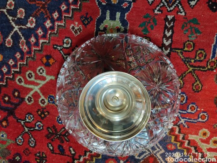 Antigüedades: Centro cristal y plata - Foto 5 - 227959308
