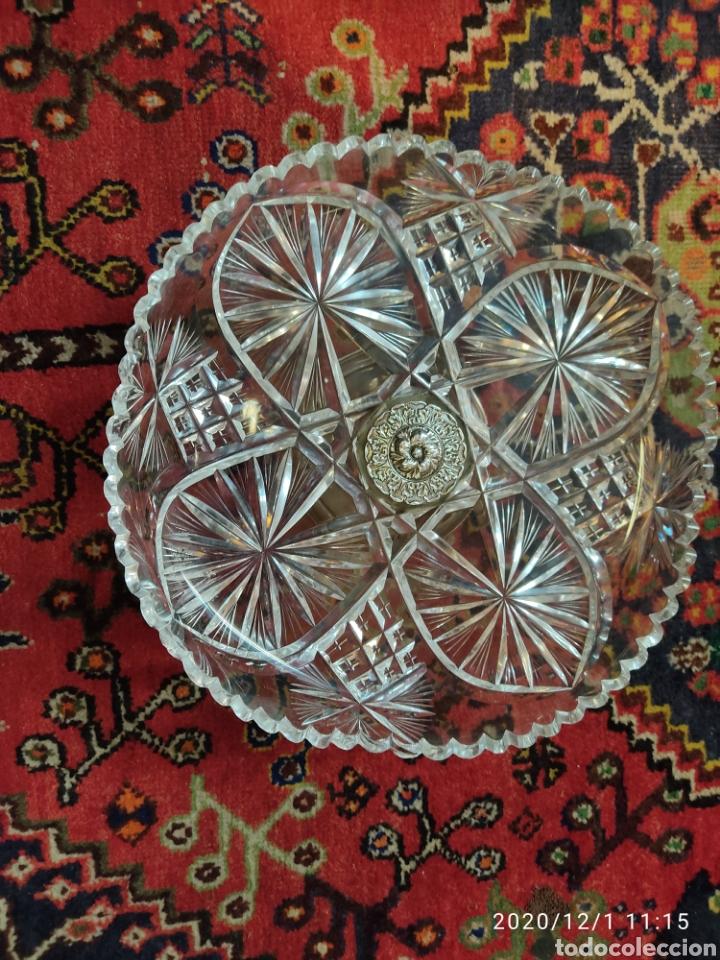 Antigüedades: Centro cristal y plata - Foto 6 - 227959308