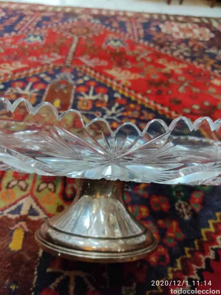 Antigüedades: Centro cristal y plata - Foto 7 - 227959308