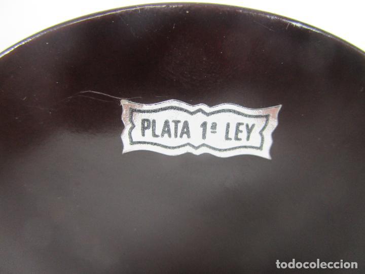 Antigüedades: Pequeño Belén - Nacimiento Miniatura - Plata de Ley 925º - Marca De Marco - Foto 12 - 227999270