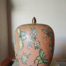 Antiquités: VASIJA PORCELANA ANTIGUA PINTADA A MANO.. Lote 228048035