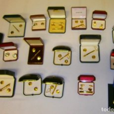 Antigüedades: LOTE DE 20 GEMELOS VINTAGE NUEVOS. Lote 228058170