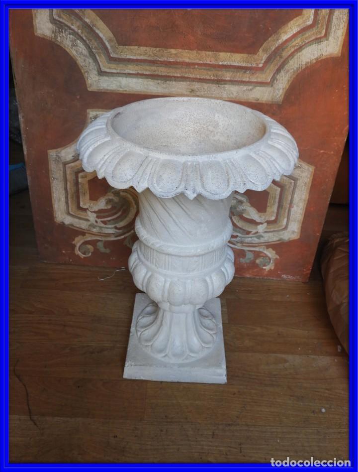 COPA DE HIERRO CON BONITA FORMA ALTURA 55 CM (Antigüedades - Hogar y Decoración - Copas Antiguas)