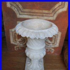 Antigüedades: COPA DE HIERRO CON BONITA FORMA ALTURA 55 CM. Lote 228112945