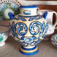 Antigüedades: JARRON DE CERAMICA DE TALAVERA. Lote 228136195