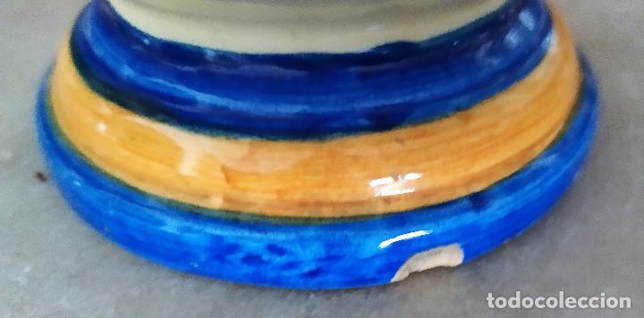 Antigüedades: Jarron de ceramica de Talavera - Foto 5 - 228136195