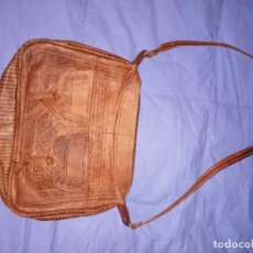 Antiquités: BOLSO DE CUERO MARROQUÍ. Lote 228153770